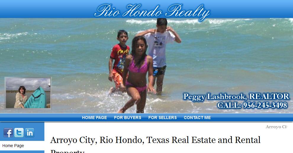 Rio Hondo Realty, Cameron County, Texas   Peggy Lashbrook, Realtor