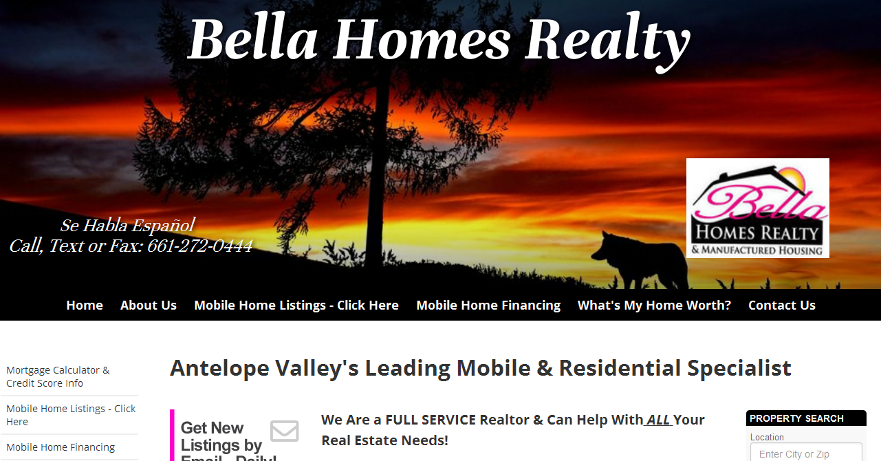 Pleasing Bella Homes Realty And Manufactured Housing Antelope Valley Interior Design Ideas Gentotryabchikinfo