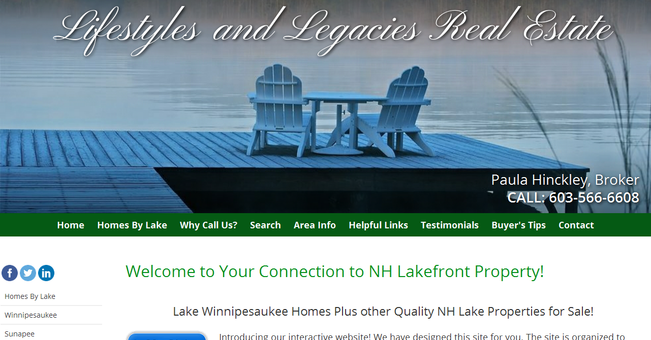 Lake Winnipesaukee Homes for Sale - Search NH Lakefront