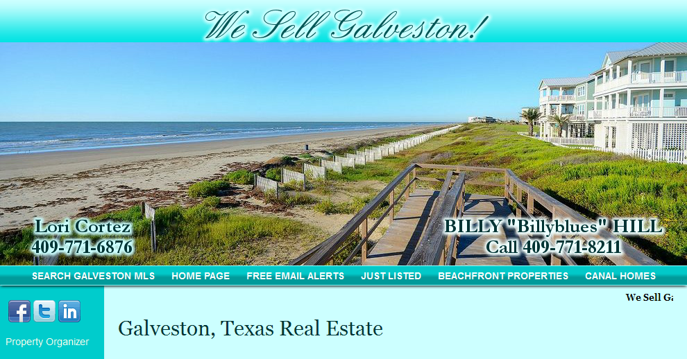 galveston texas real estate about me billy hill realtor
